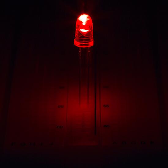 resistance 482# 10 to 100pcs red led 5mm 30000mcd giga bright