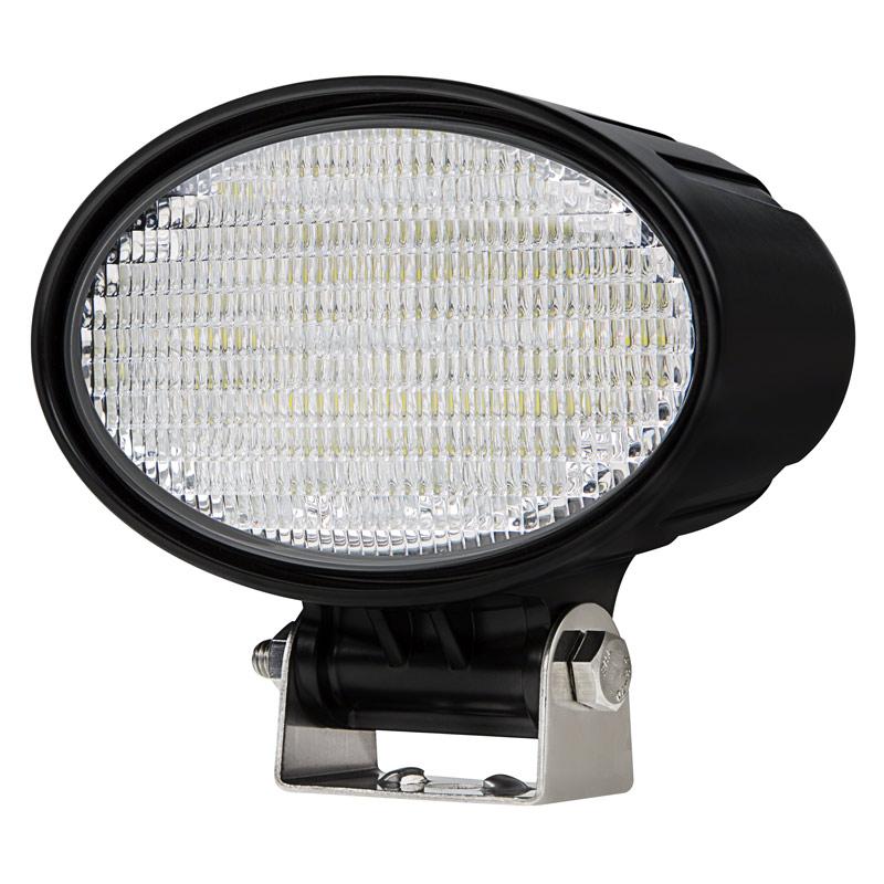 off road led work light led driving light 6 oval 19w 1 800 lumens super bright leds. Black Bedroom Furniture Sets. Home Design Ideas