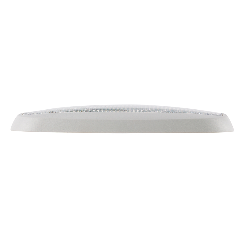 "Led Light Fixture With Switch: 6"" Rectangular LED Dome Light Fixture W/ Built-In Switch"