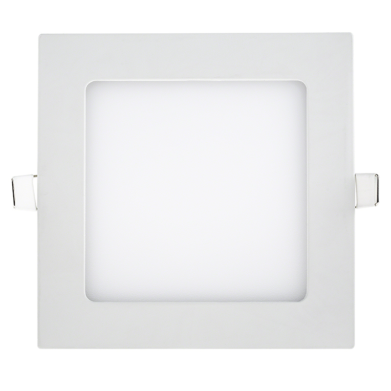 6  Square Low Profile LED Recessed Light - 9W Front View  sc 1 st  Super Bright LEDs & 6