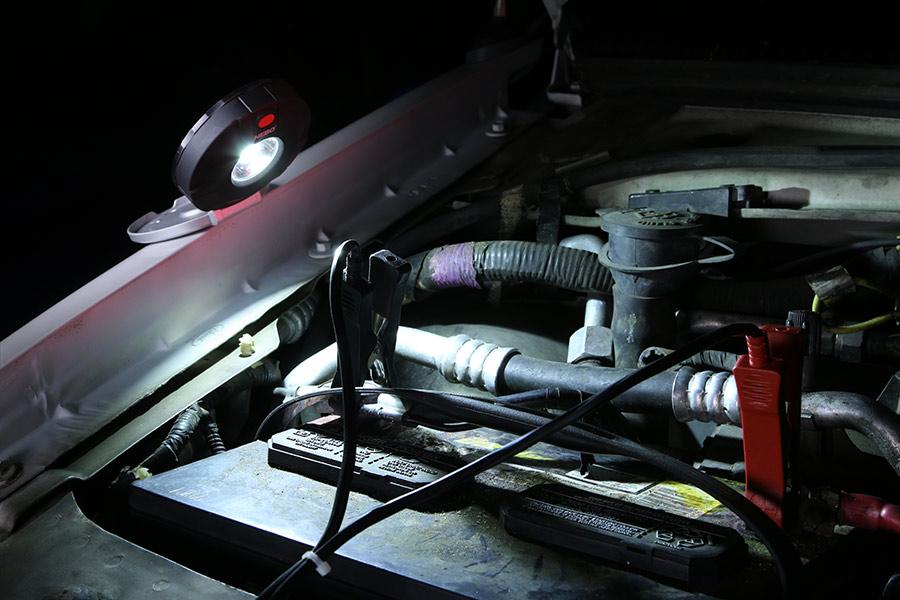 NEBO 6391 Twin Pucks 160 Lumen LED auto emergency beacon Flashlight for safety