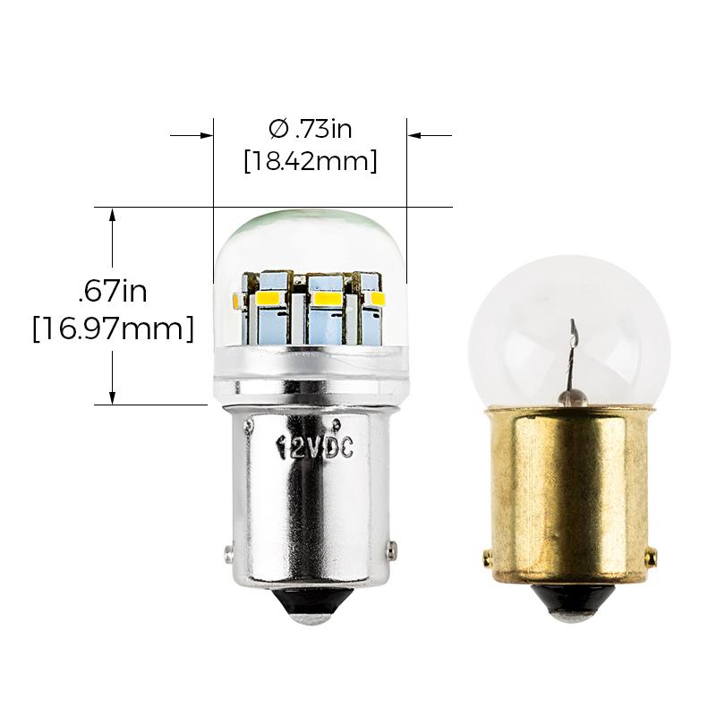 67 led bulb 12 led tower ba15s base super bright leds. Black Bedroom Furniture Sets. Home Design Ideas