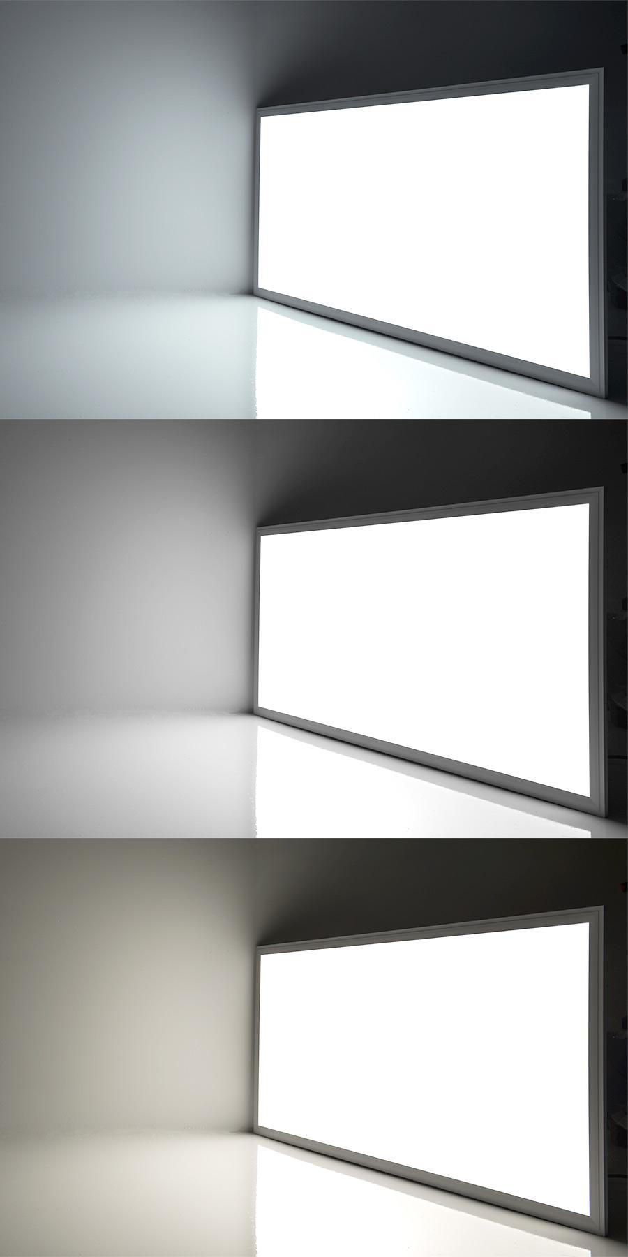 led panel light 2x4 7 600 lumens 72w even glow. Black Bedroom Furniture Sets. Home Design Ideas