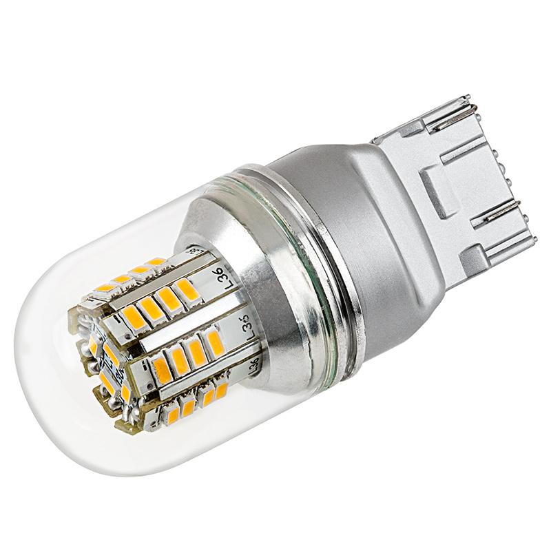 Led Bulb Cover: 7443 LED Bulb W/ Stock Cover