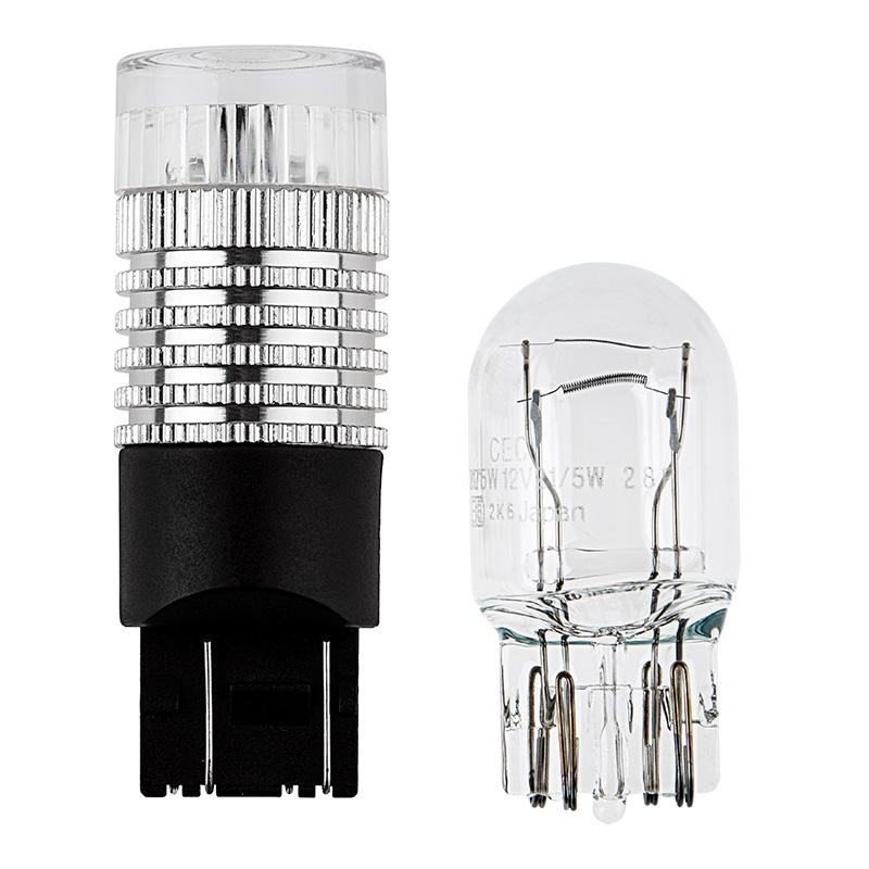 7443 led bulb w brake flasher dual function 1 high. Black Bedroom Furniture Sets. Home Design Ideas