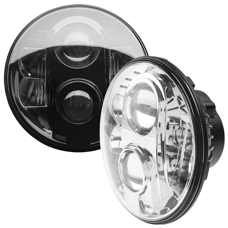7 round h6024 sealed beam motorcycle headlight led. Black Bedroom Furniture Sets. Home Design Ideas
