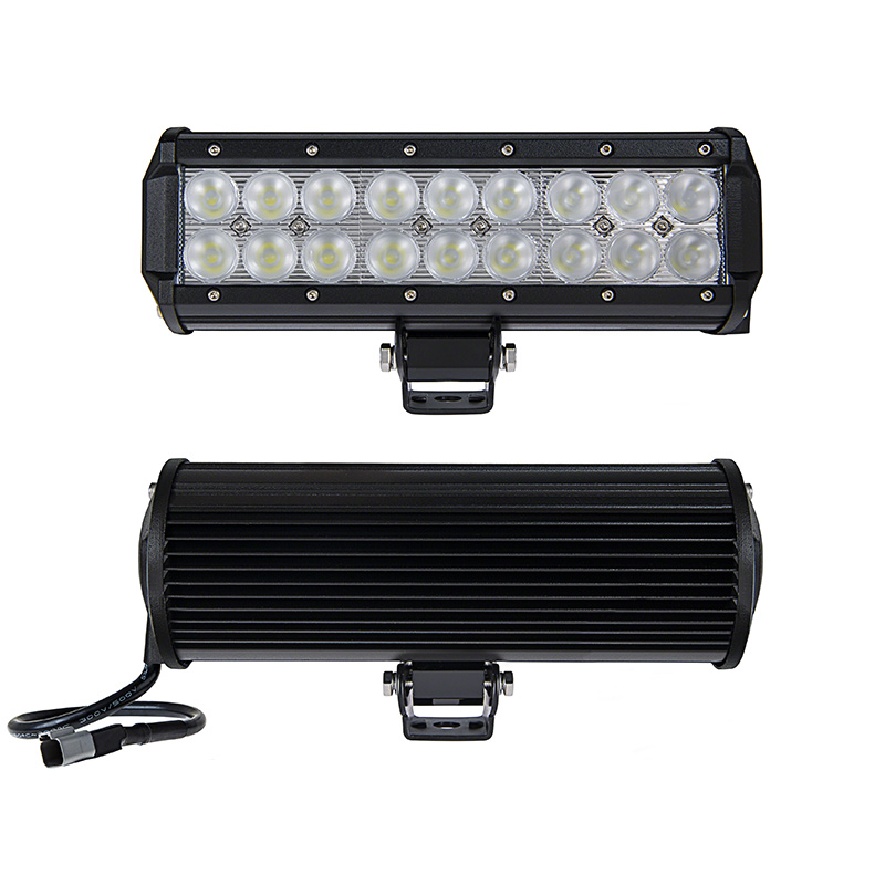 9 off road led light bar 54w 3780 lumens led light bars for 9 heavy duty off road led light bar 54w front back view mozeypictures Gallery