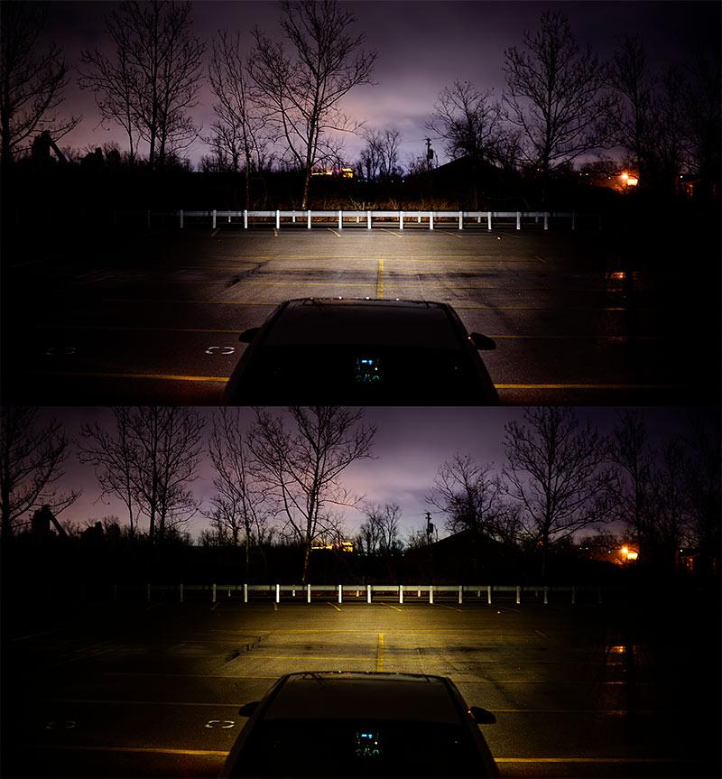 H9/H11 LED Fanless Headlight/Fog Light Conversion Kit With