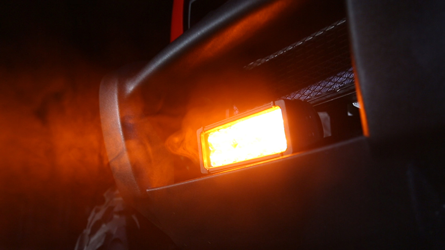 7 5 Dual Row Heavy Duty Off Road Amber LED Light Bar 36W Specialty