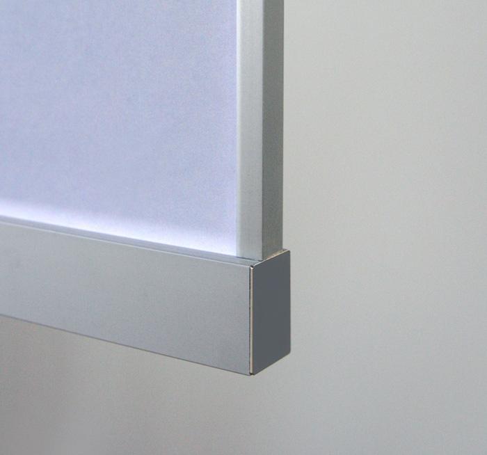 Aluminum LED Channel For 6mm Glass
