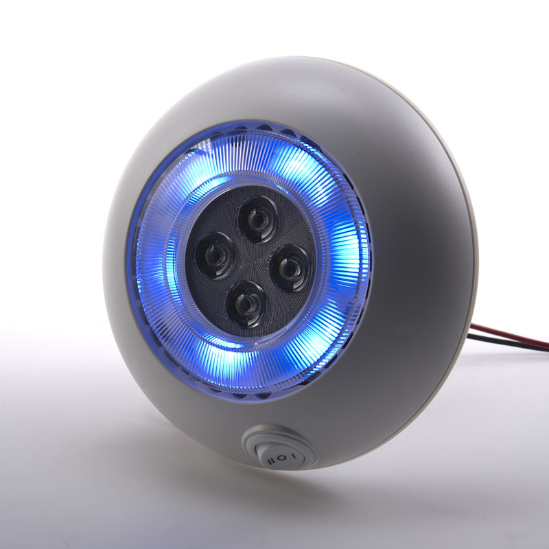 """5.5"""" Round LED Dome Light Fixture"""