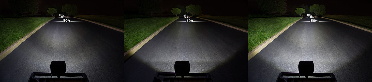 6 5quad Row Heavy Duty Off Road Led Light With Multi Beam