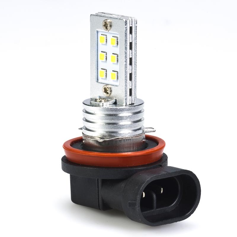 H11 Led Bulb 12 Led Daytime Running Light Vehicle Led Bulb Finder Super Bright Leds