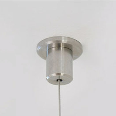 Klus 1559 led profile ceiling fastener led profile for Hang photos from wire
