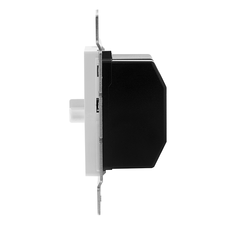 led dual slide switch and dimmer for standard 12v wall switch box dlvdw 120. Black Bedroom Furniture Sets. Home Design Ideas