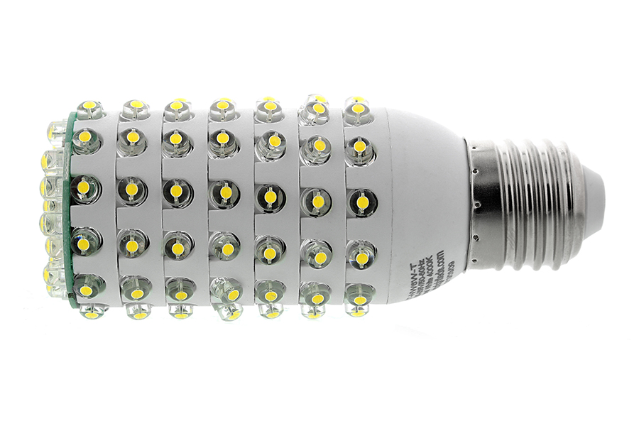 T10 led bulb 108 led corn light 6 watt 40 watt equivalent 400 lumens led tube lights Led light bulb cost