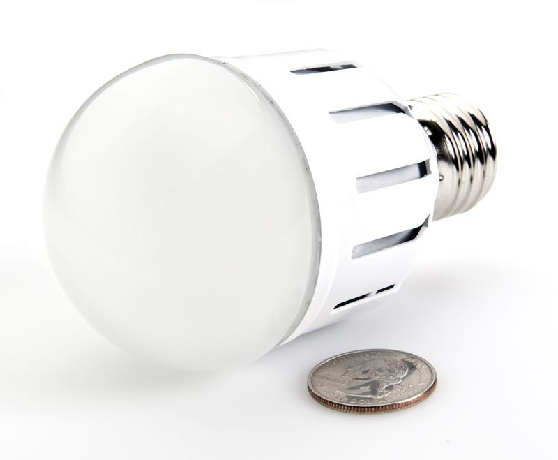 E27 LED Bulb - 55 Watt Equivalent Globe Bulb   LED Globe Bulbs ...