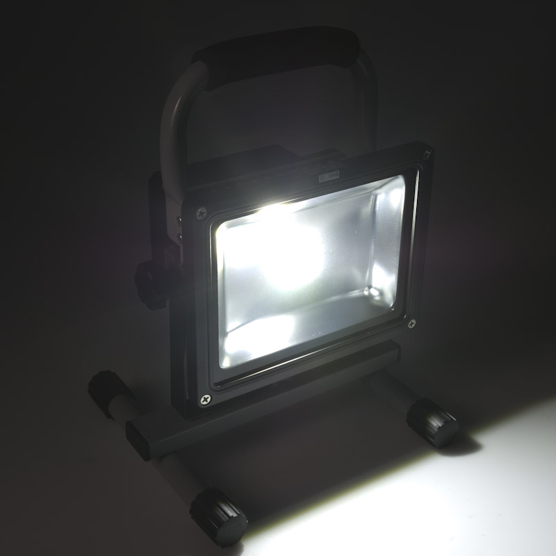 Commercial Led Lighting Near Me: 20W Portable High Powered Rechargeable LED Work Light