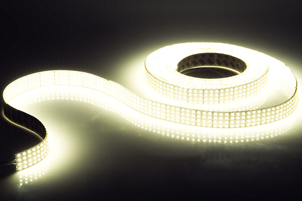 Bright white led strip lights 24v led tape light quad row 825 4nfls x2160 24v series quad row high power led flexible light strip aloadofball Image collections