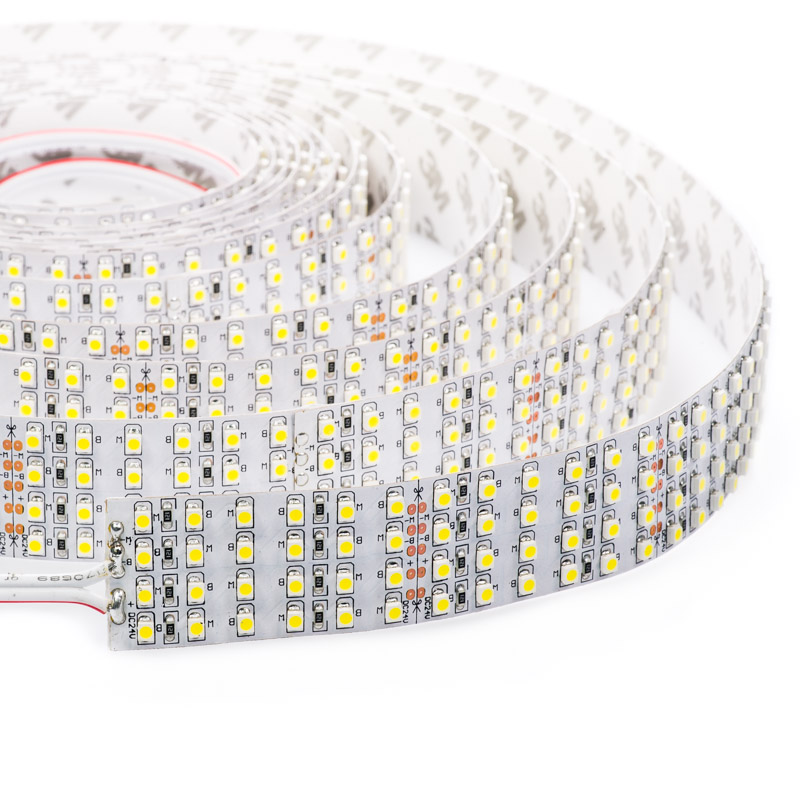 Bright white led strip lights 24v led tape light quad row 825 4nfls x2160 24v series quad row high power led flexible light strip aloadofball Images