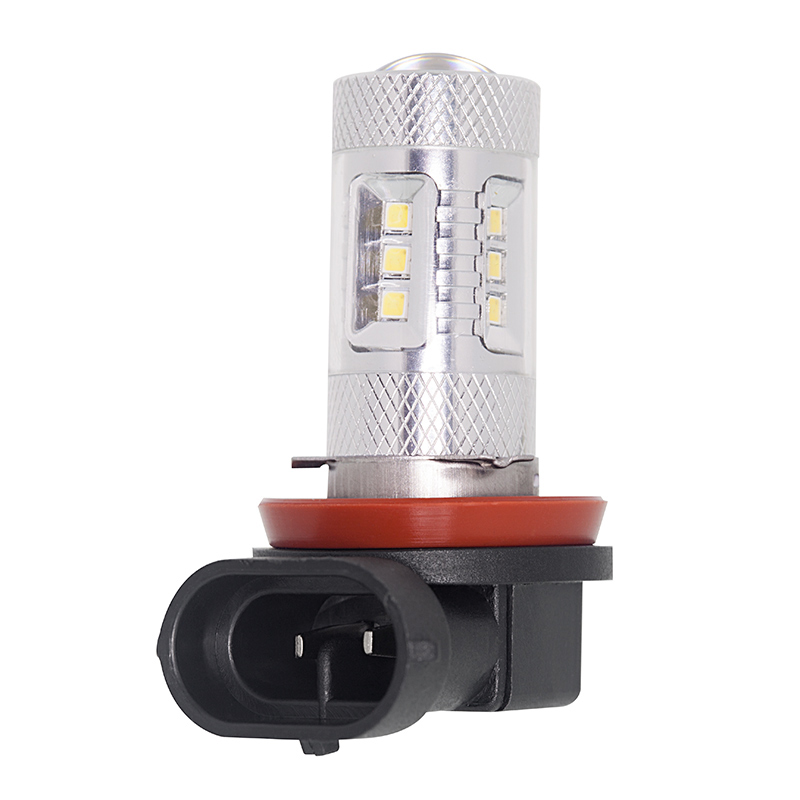H11 Led Bulb W Focusing Lens 15 Smd Led Daytime Running Light Led Tower Led Drl