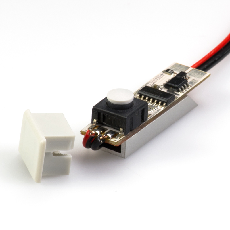 Klus 1491 1224v Micro Switch With Power Wire Led Profile Housings