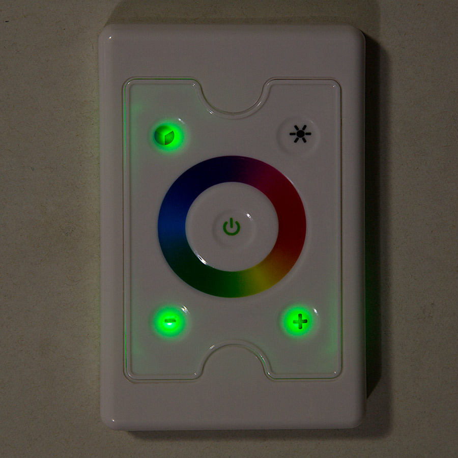 wall mount touch color rgb controller dynamic color. Black Bedroom Furniture Sets. Home Design Ideas