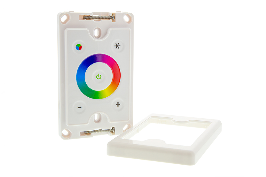 Wall Mount Touch Color Rgb Controller Dynamic Color