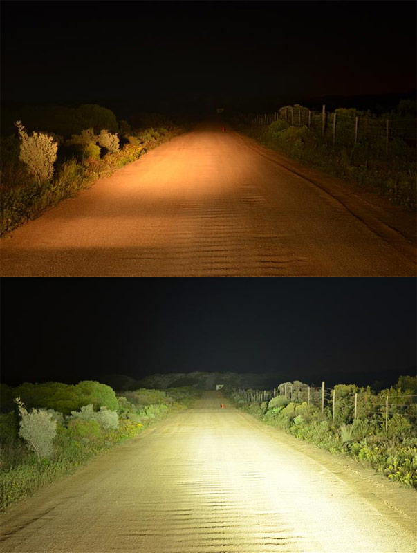 145 off road led light bar 55w 5400 lumens super bright leds orb 72w24 35 aloadofball Image collections