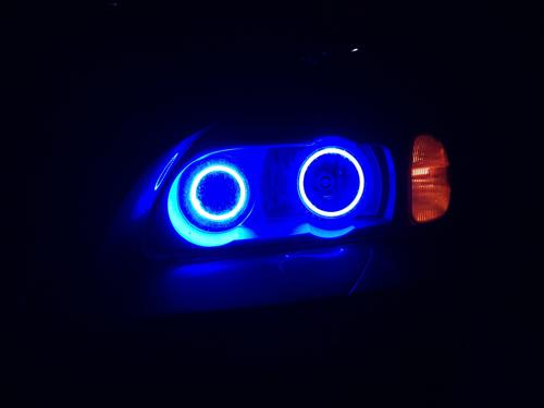 led halo headlight accent lights led angel eyes led. Black Bedroom Furniture Sets. Home Design Ideas
