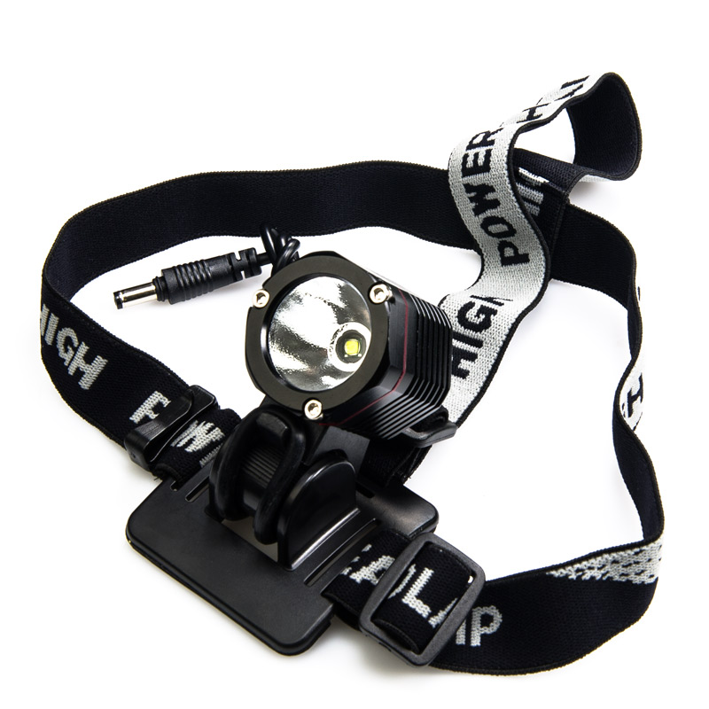Superbe SG N1000   10W LED Headlamp Flashlight Mounted On Included Headband Strap
