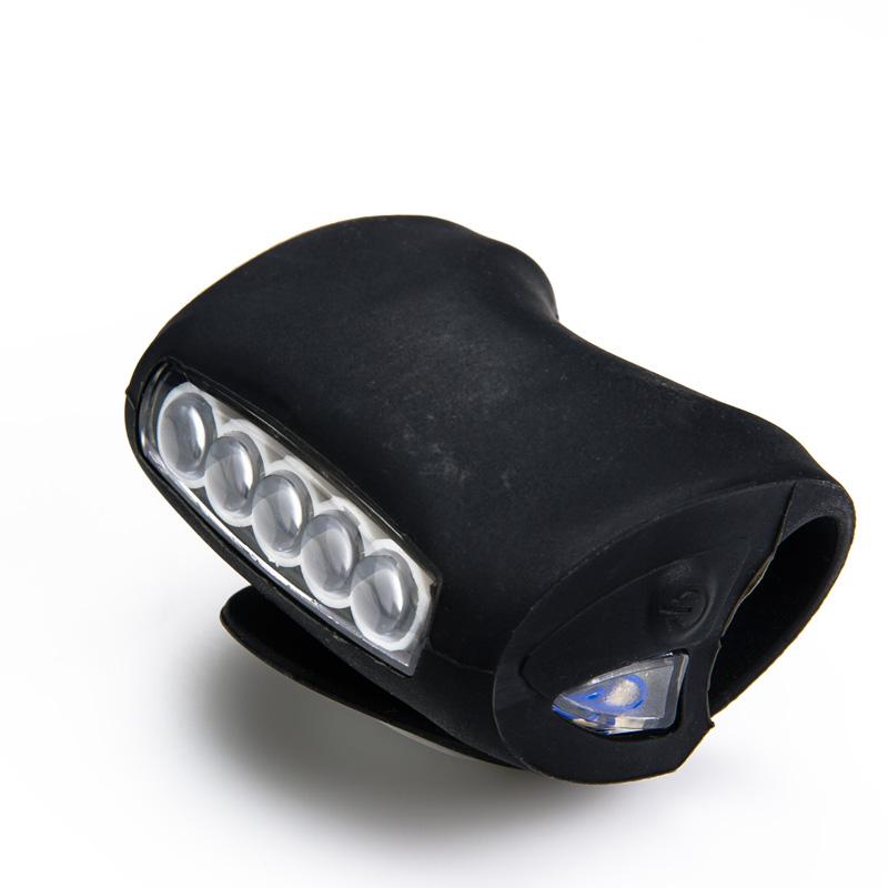 7 LED Silicone Bicycle Light | LED Bike Lights