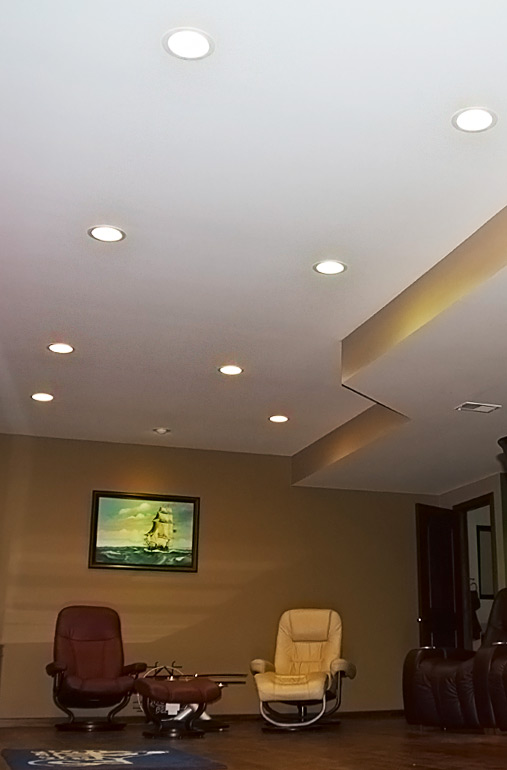 """Basement Lighting Recessed Ceiling: LED Can Light Retrofit For 4"""" Fixtures"""
