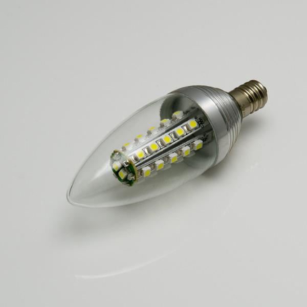 Brightest Led Candelabra Bulb: Candelabra LED Bulb, 32 LED - Frosted Lens