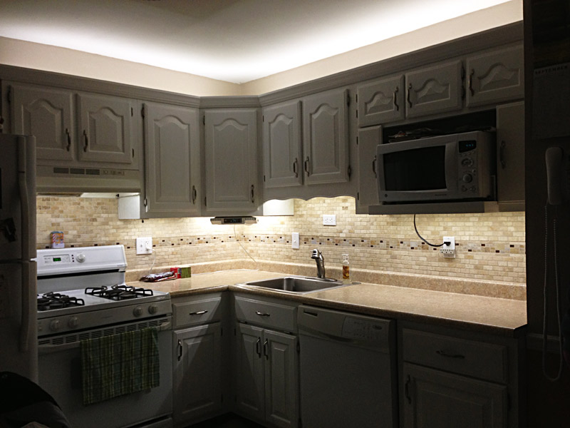Under cabinet led lighting kit complete led light strip for Kitchen led lighting