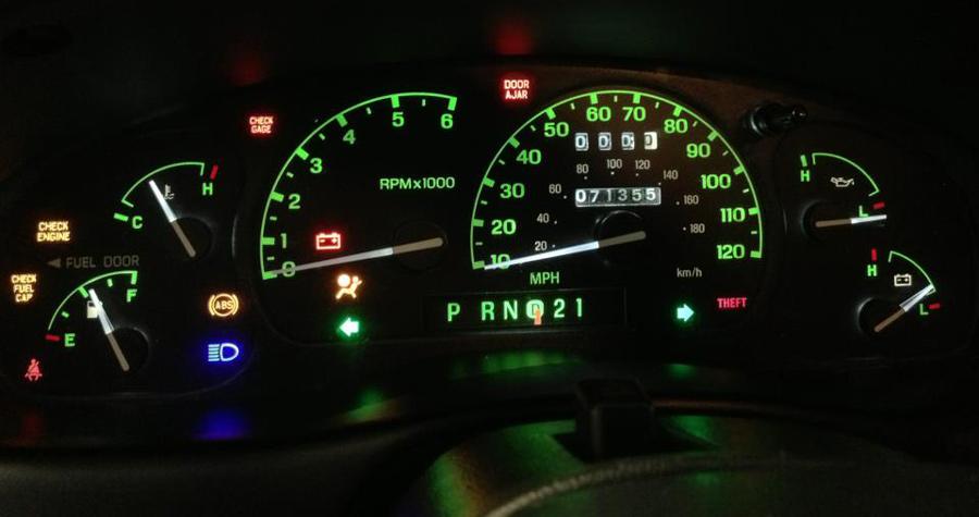 1999 ford explorer instrument cluster lights autos weblog