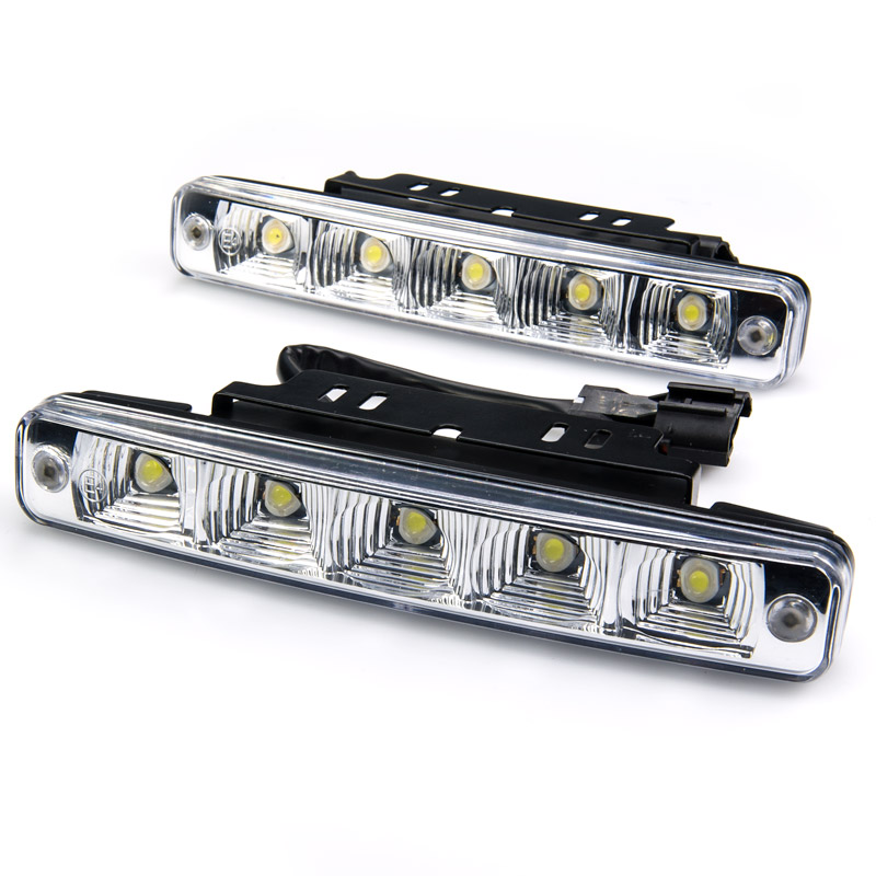 high power top mounted led daytime running light kit led replacement bulbs for cars 12v. Black Bedroom Furniture Sets. Home Design Ideas