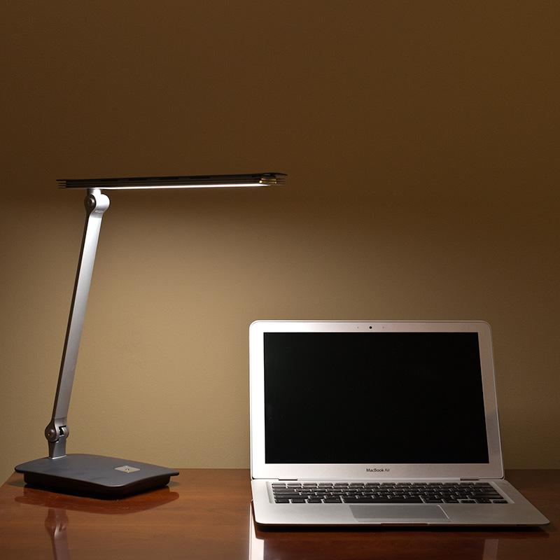 7 watt led desk lamp super bright leds. Black Bedroom Furniture Sets. Home Design Ideas