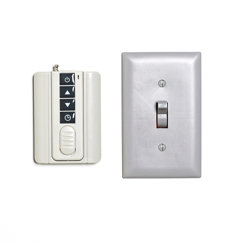 LED Dimmer w/ Wireless Wall Mount RF Remote - 12V DC Single Color LED Dimmer Switches LED ...