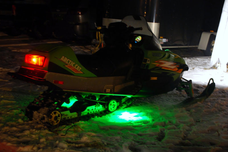 LED-Flexible-Light-Strip-Snow-Mobile-Accent-Light Outdoor Light Without Wiring on