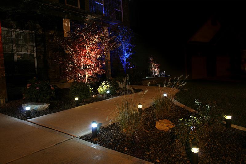 3 Watt RGB LED Landscape Spotlight LED Landscape Spot Lights LED Landscap