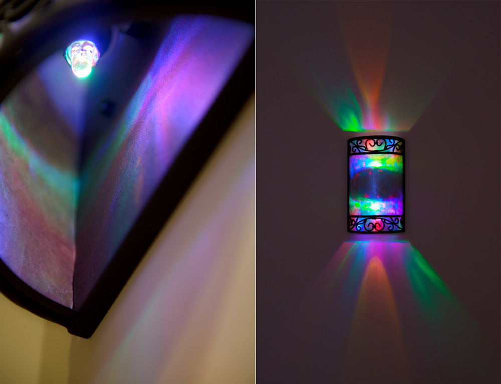 Led Night Light Bulb Multicolored Super Bright Leds