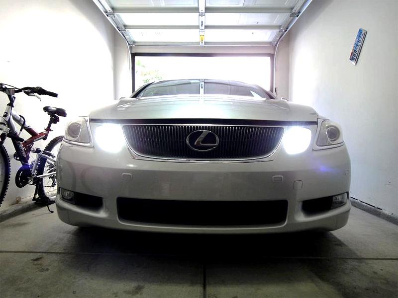 LED Lexus Car Daytime Running Lights DRL hb4 led bulb 28 smd led daytime running light led tower led  at eliteediting.co