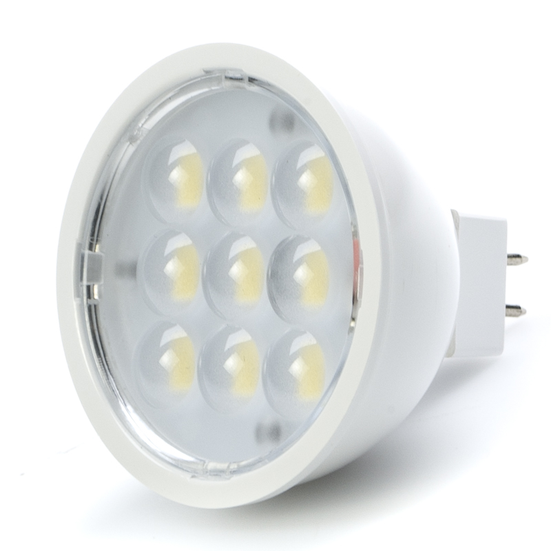 Mr16 Led Bulb 4 Watt 35 Watt Equivalent Bi Pin Led Spotlight Bulb Led Flood Light Bulbs