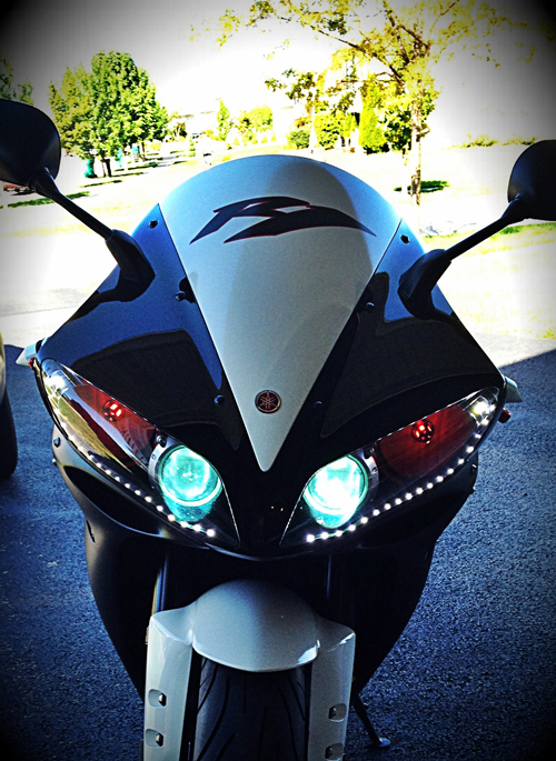 Led strip lights motorcycle light images light ideas side emitting led light strips led tape light with 18 smdsft mozeypictures Gallery