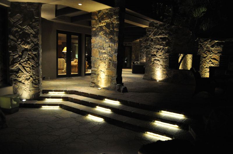 Lighting Basement Washroom Stairs: Weatherproof Linear LED Light Bar Fixture