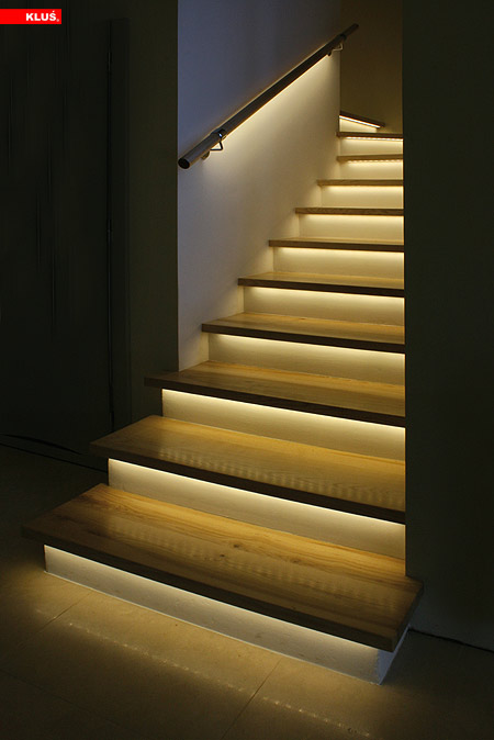 Wireless Single Color LED Dimmer Switch for EZ Dimmer Controller Installed with Lights on Stairs & Wireless Single Color LED Dimmer Switch for EZ Dimmer Controller ... azcodes.com