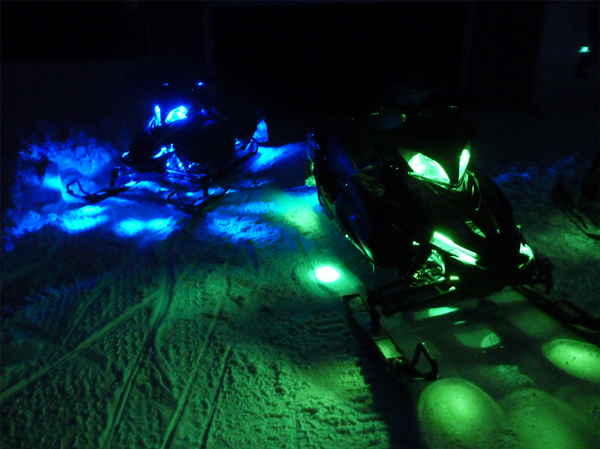 Motorcycle led lighting kit weatherproof rgb color changing led the engine lighting kit can be used in a variety of applications including on snowmobiles the engine lighting kit can be used in a variety of applications aloadofball Images