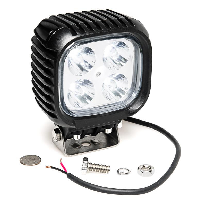 duty high powered led work light led work lights super bright leds. Black Bedroom Furniture Sets. Home Design Ideas