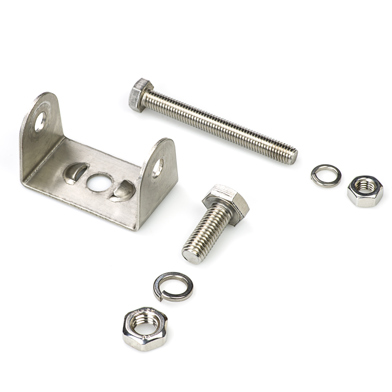Stainless Steel Adjustable Stud Mounting Bracket And Bolts For Mounting LED Work  Lights